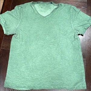 Buffalo David Bitton green v-neck shirt